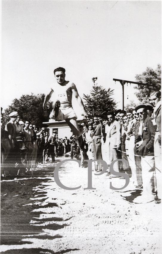 Saut en longueur 1938