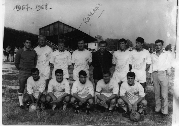 Le FCC au stade de la Roseraie 1967/68