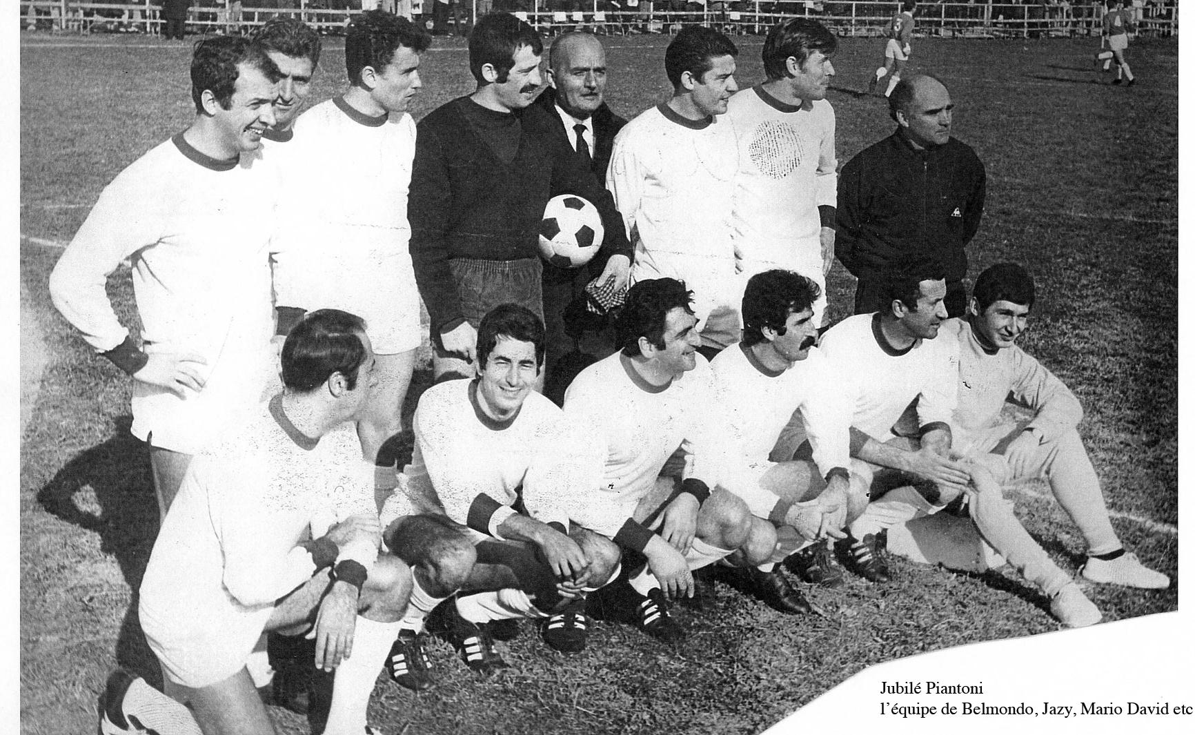 1966 Jean-Paul Belmondo et son équipe