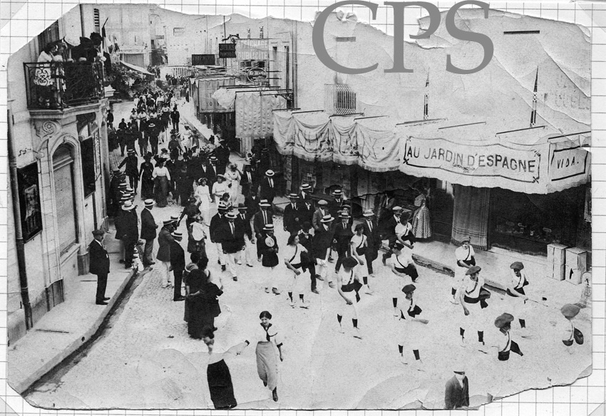 Défilé de l'Espérance avant 1914