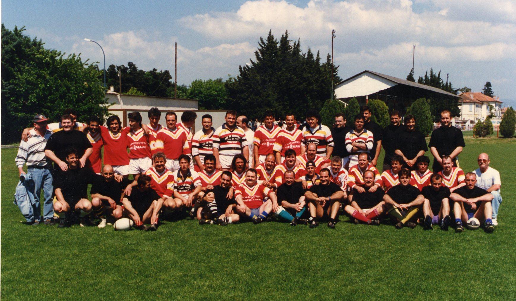 un match d'anciens du RCC en 1996