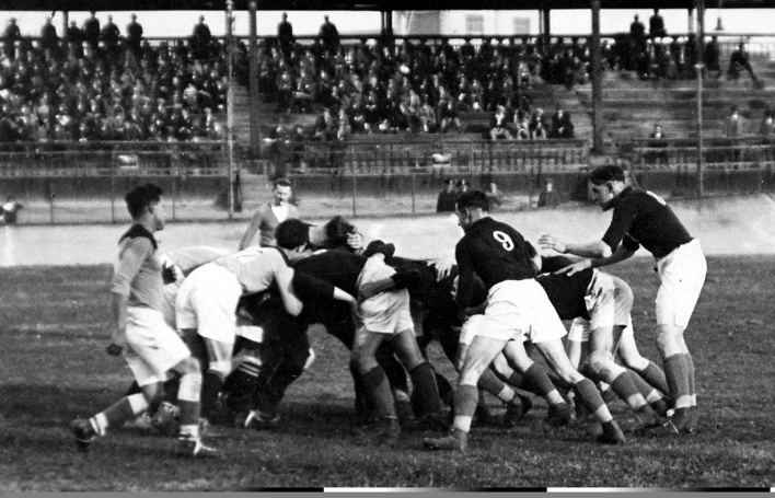 Match Italie- Littoral. Milan 1927