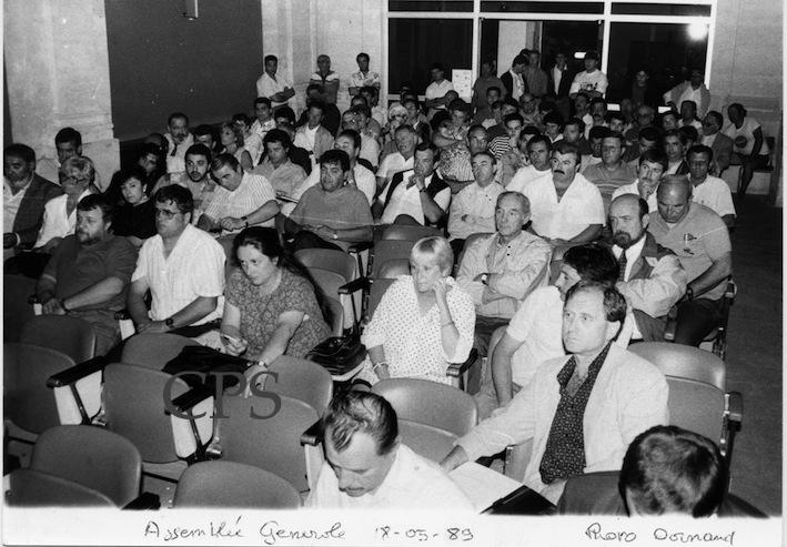 Assemblée générale Mai 1989