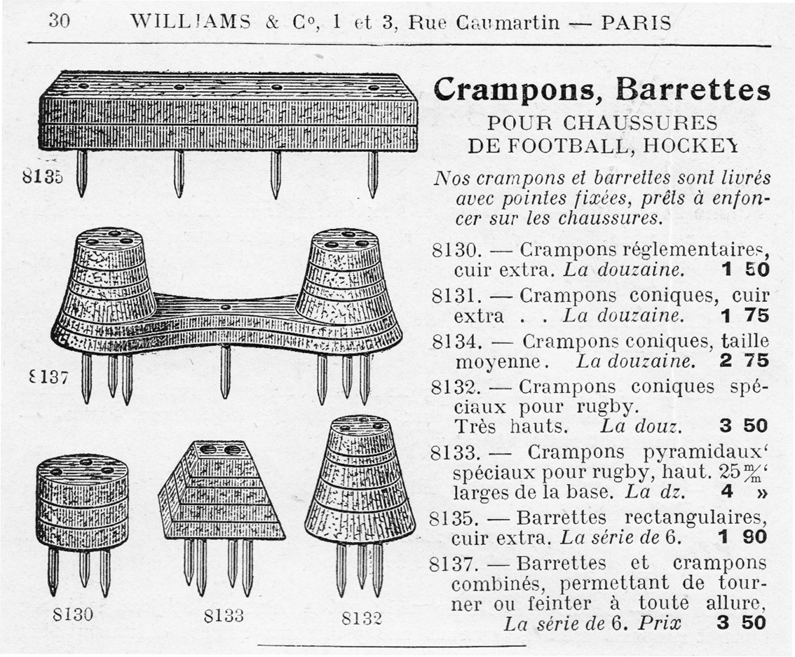 crampons williams 1924