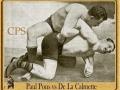 Paul Pons et son ami Aimable de la Calmette
