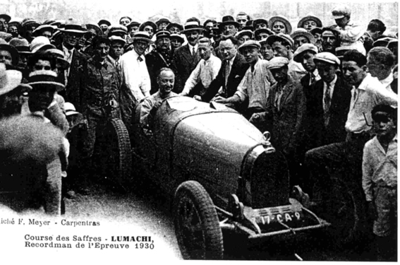 Lumachi, un vainqueur de la course de côte des Saffres