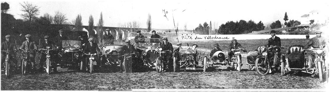 Les Véhicules de l'AMCC - 1924