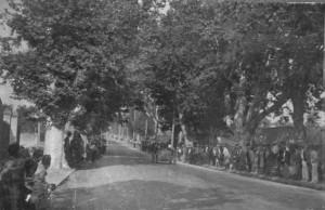 La foule au départ. Photo P.Michel
