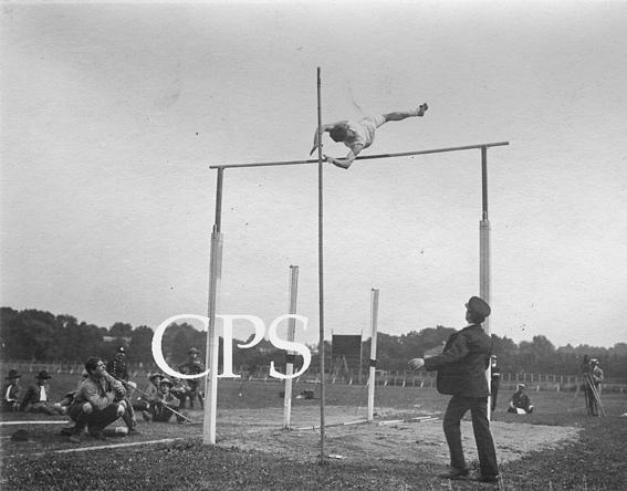 Saut à la perche aux jeux interalliès 1919
