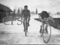 Amateurs au vélodrome Moulin