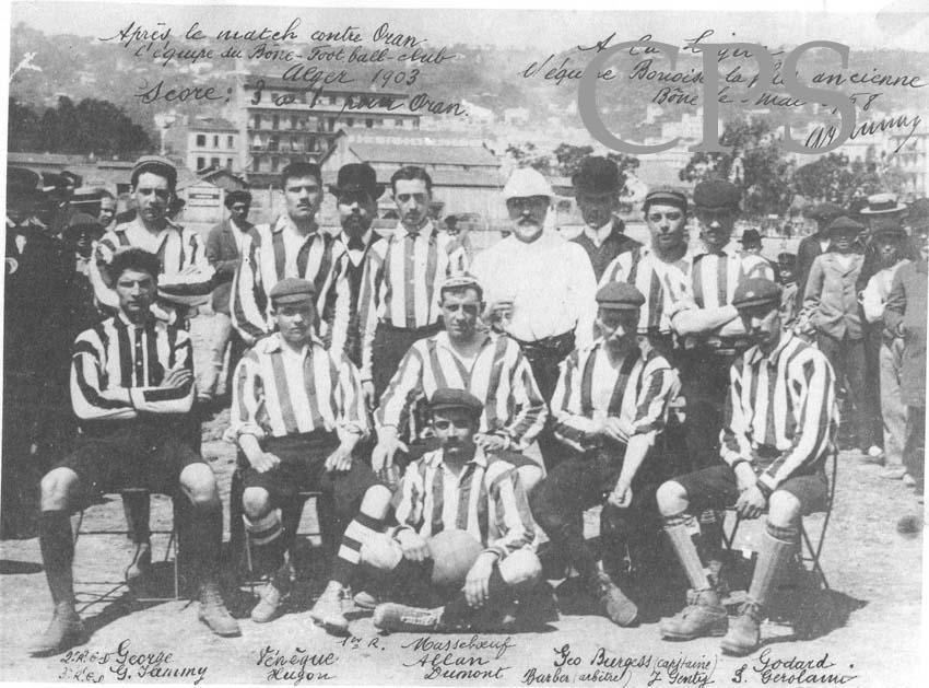 Football en Algérie en 1903