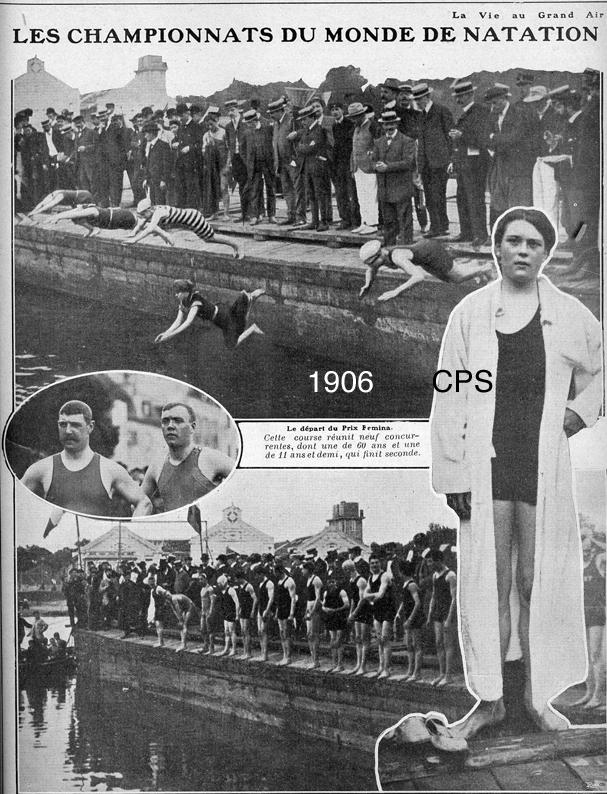 1906 Championnat du monde de natation - Prix Fémina
