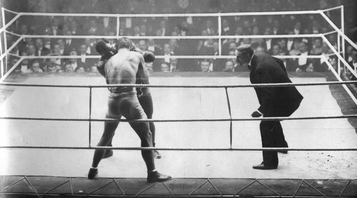 Georges Carpentier contre Joe Jeannette 1914