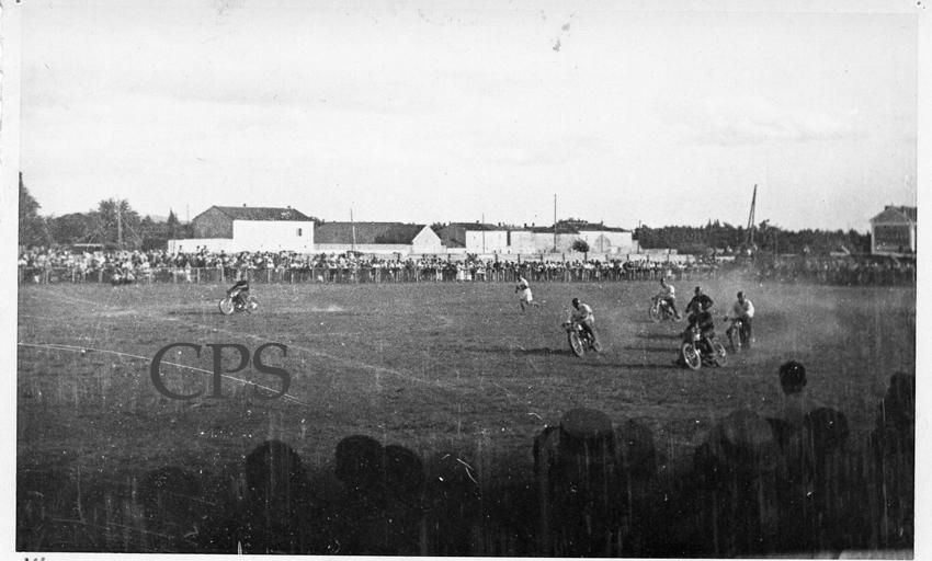 Motoball au stade de Souville